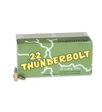 Remington, Thunderbolt, 22LR, 40 Grain, Round Nose Hi-Velocity, 500 Round Case