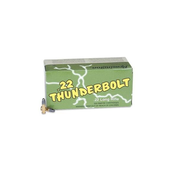 Remington, Thunderbolt, 22LR, 40 Grain, Round Nose Hi-Velocity, 500 Round Case