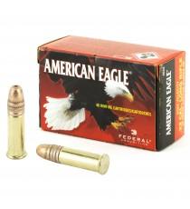 Federal American Eagle 22 LR Ammo 38 Gr HP Copper-Plated 40 Rd Box