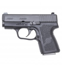 """Kahr PM9 9mm Subcompact Pistol 3"""" 6, 7 Rd Night Sights Blackened Stainless"""