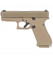 """Glock 19X G19X 9mm Pistol Coyote Tan 4.02"""" 17, 19 Rd Night Sights"""