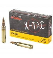 PMC X-Tac 5.56 NATO Ammo 55Gr FMJ-BT 1000 Rd Case